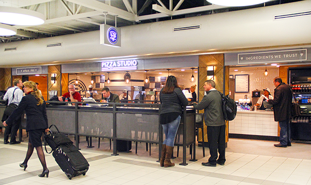 Pizza Studio at Lambert Airport