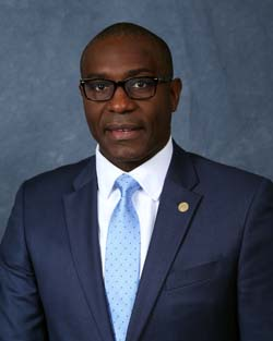 Portrait: President of the Board of Aldermen Lewis Reed