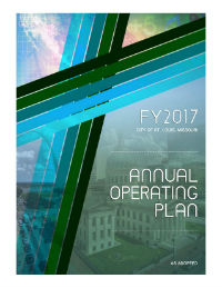 FY17 Annual Operating Plan as Adopted