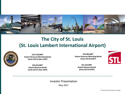 St Louis Lambert International Airport Investor Presentation May