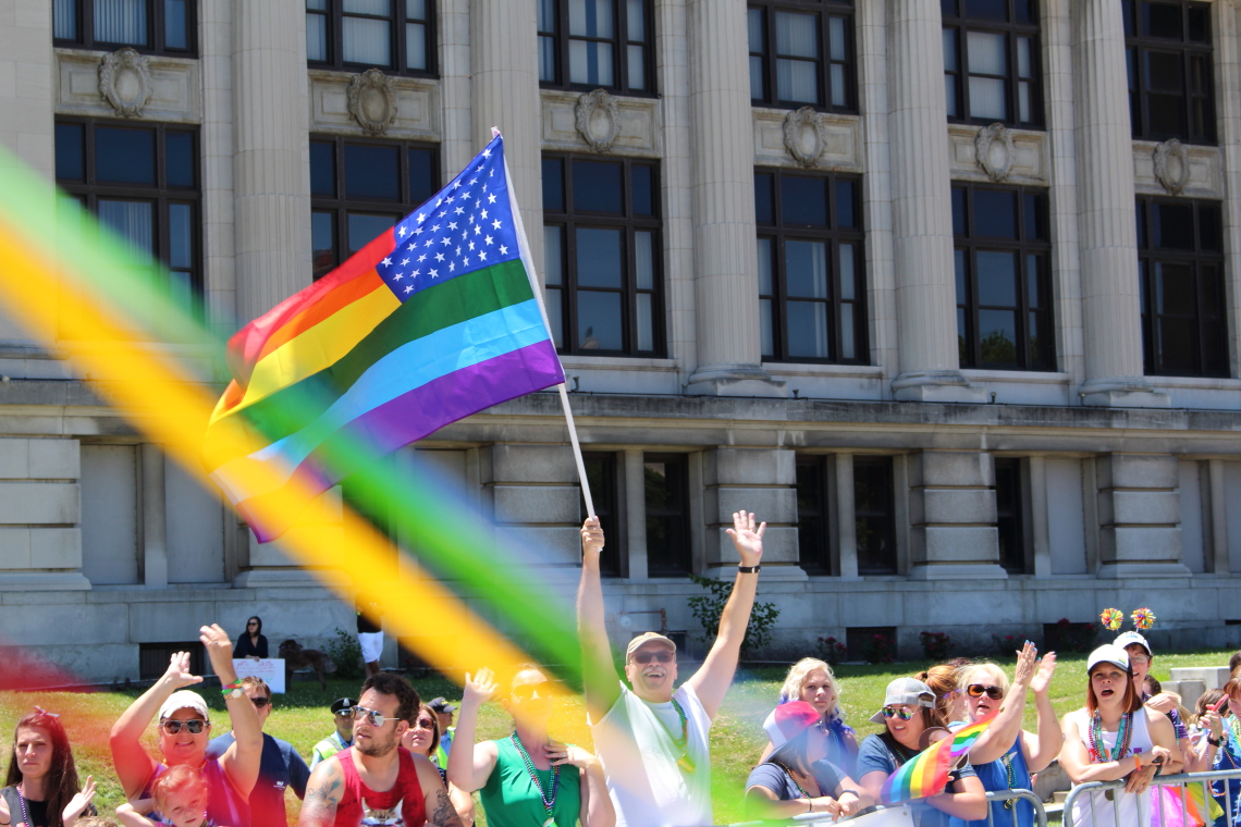 Photos from the Pride St. Louis Parade, held on Sunday, June 25, 2017 in downtown St. Louis.