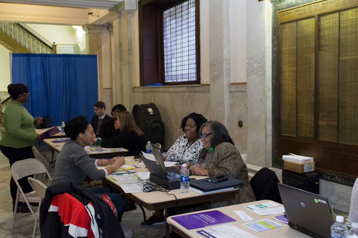 Photos from the Taxpayer Advocate Problem-Solving Day, sponsored by Comptroller Darlene Green and the IRS Taxpayer Advocate.