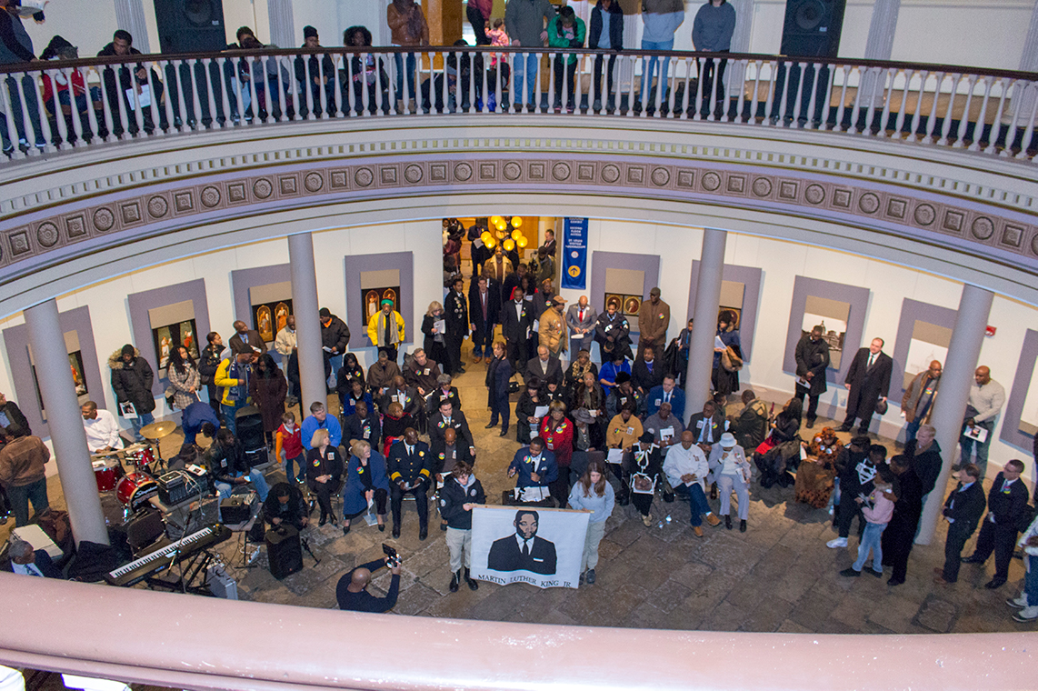 Photo from MLK Day activities 2018