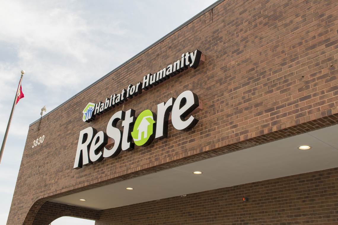 Photo from the Habitat for Humanity ReStore grand opening