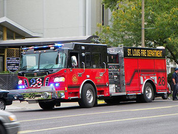 Proceeds from the bonds are supporting the purchase of firefighting equipment and other essential capital projects. (Pictured: St. Louis Fire Department Engine No. 28)