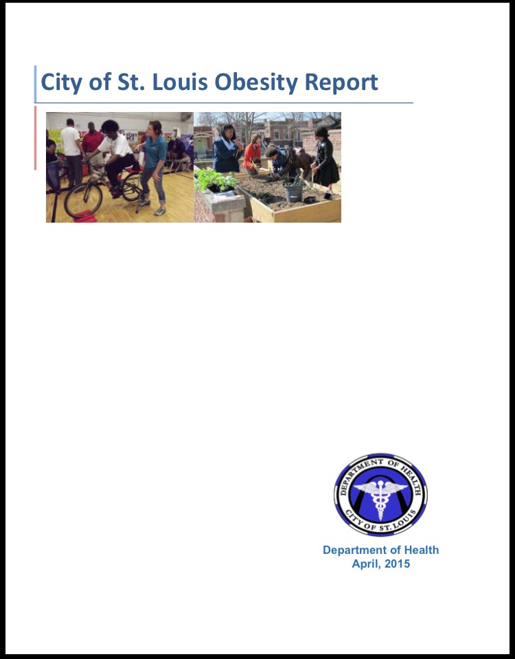 Cover Page City of St. Louis Obesity Report