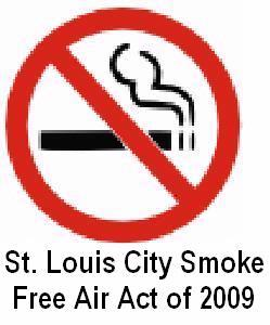 Smoke Free Air Act 2009 Sign