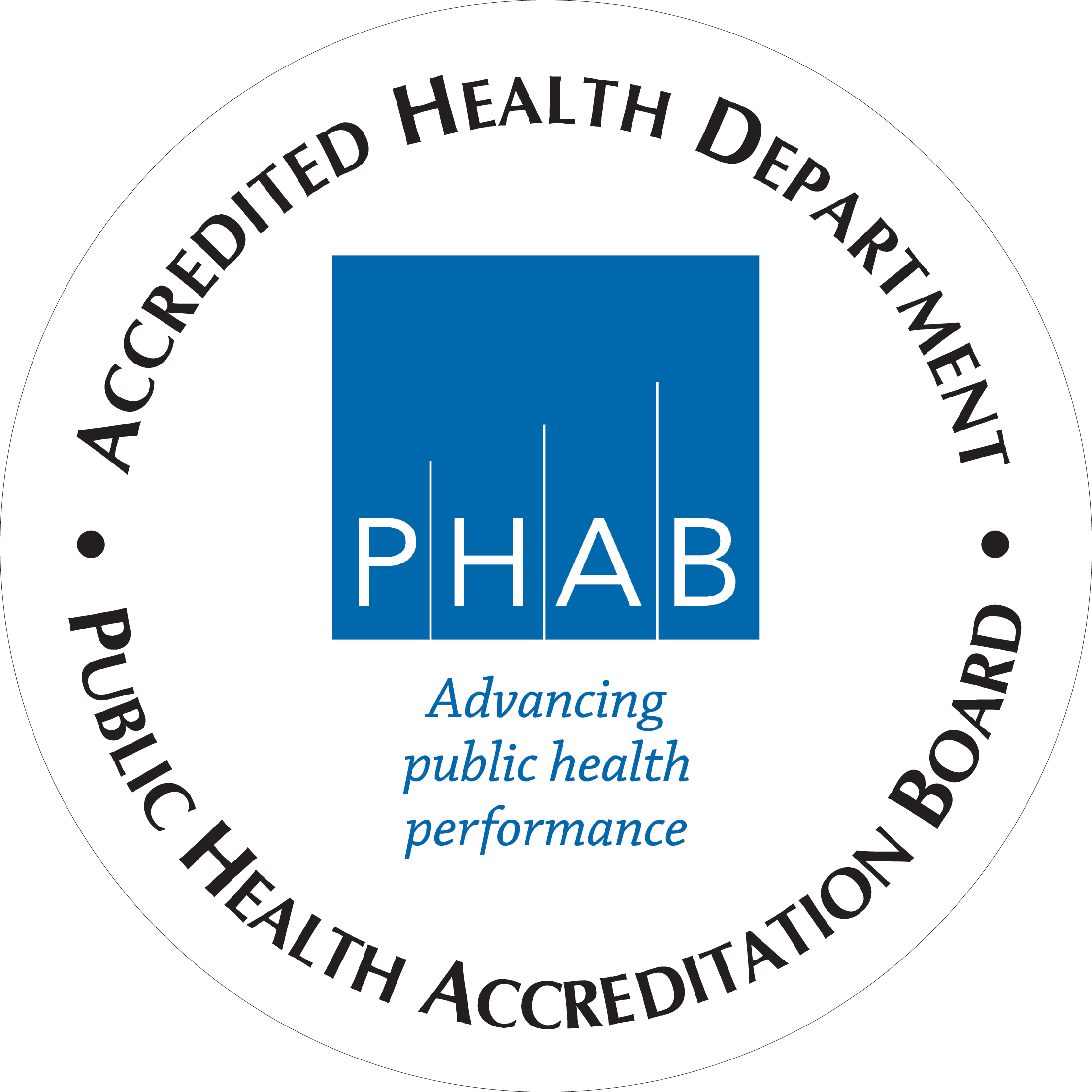 Image result for white health department accreditation seal