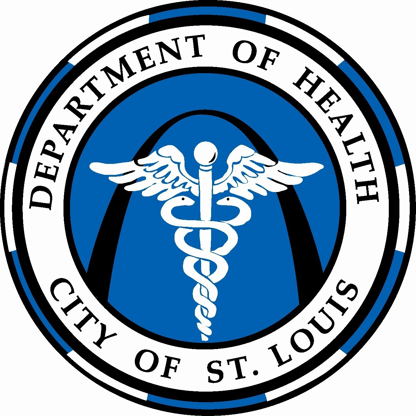 Health Department Logo Circle