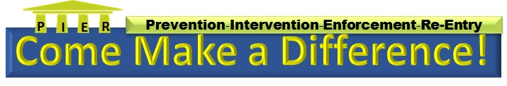 PIER Come Make A Difference Logo