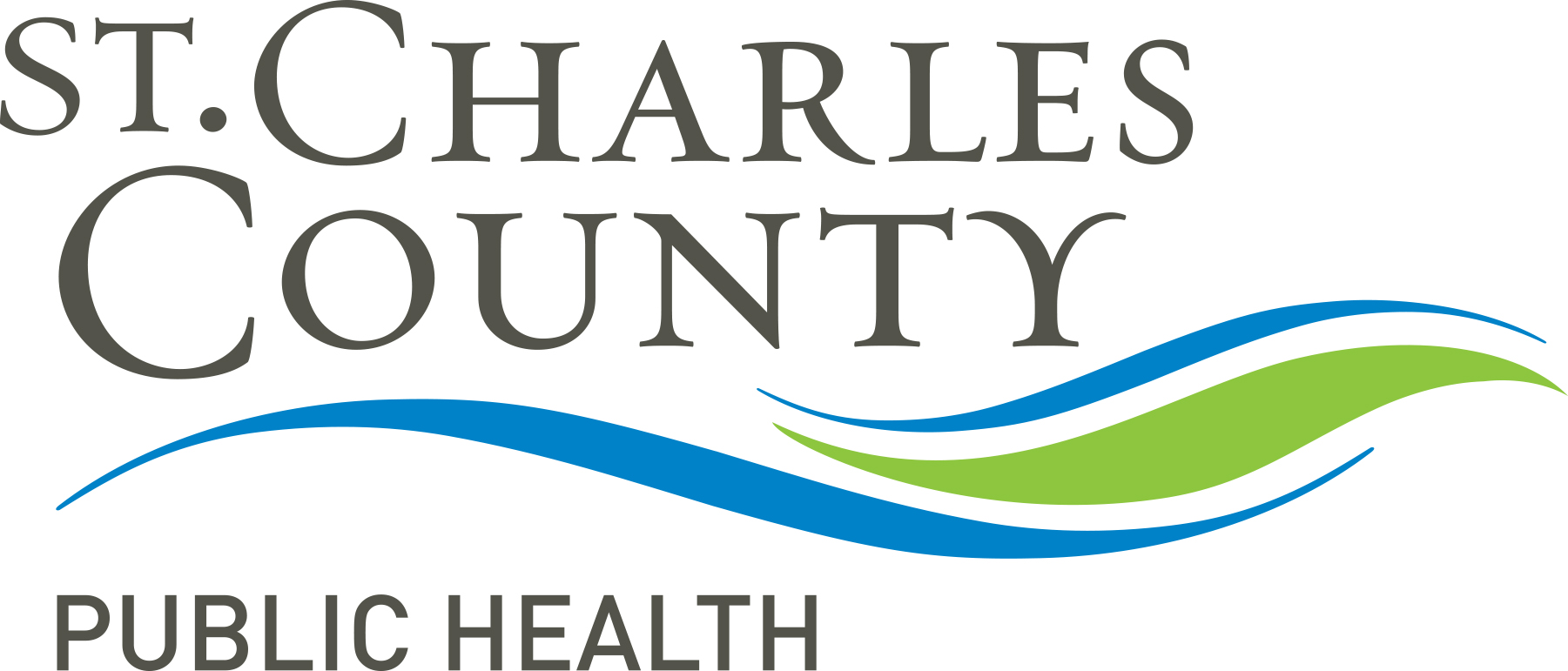logo for St. Charles County Health Department
