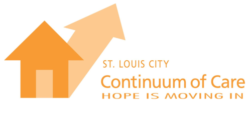 Continuum of Care Logo - House with Shadow