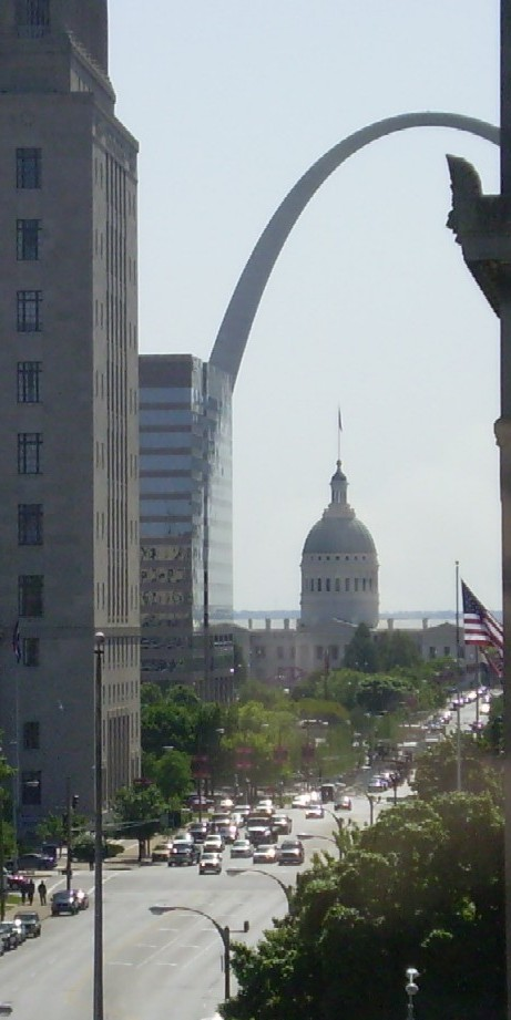 View of The Arch down Market Street