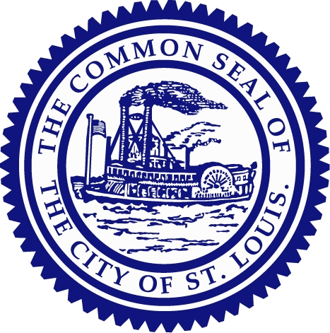 Official City Seal in Blue