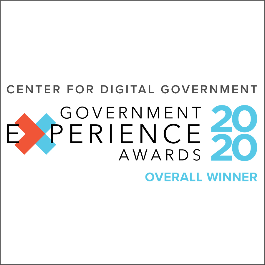 2020 Government Experience Award Square Logo