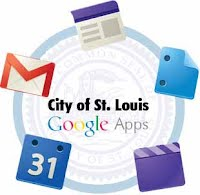 Going-Google-Applications Logo used to introduce Google mail to city employees.