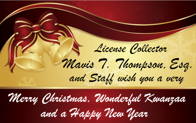 2015 Holiday Greeting - Mavis Thompson