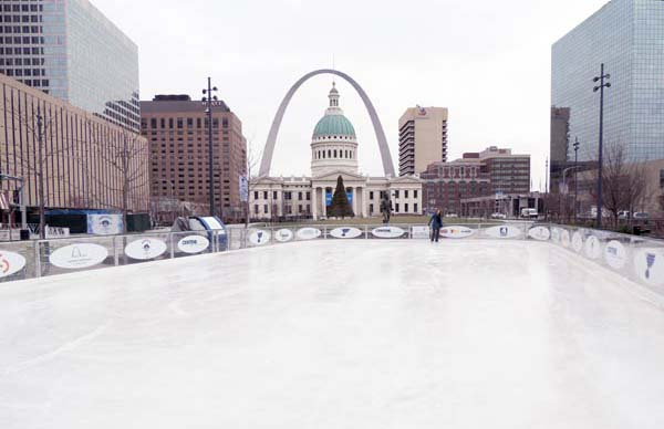 Winter In St  Louis