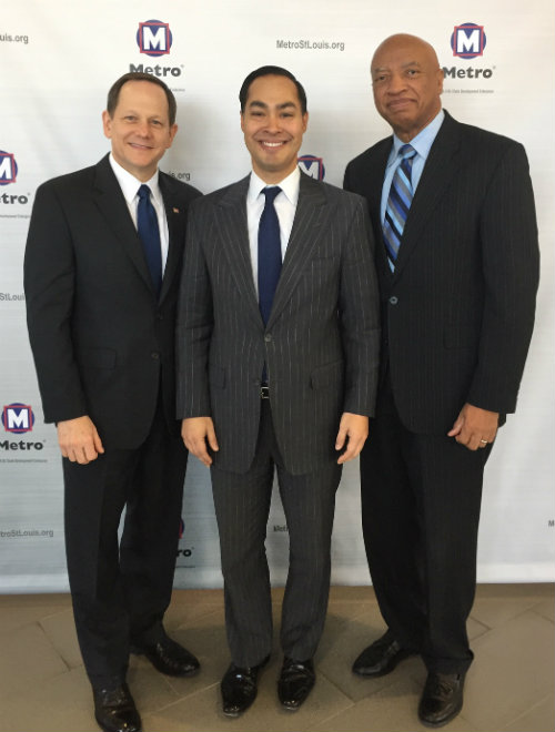 Mayor Slay, Julian Castro, Otis Williams