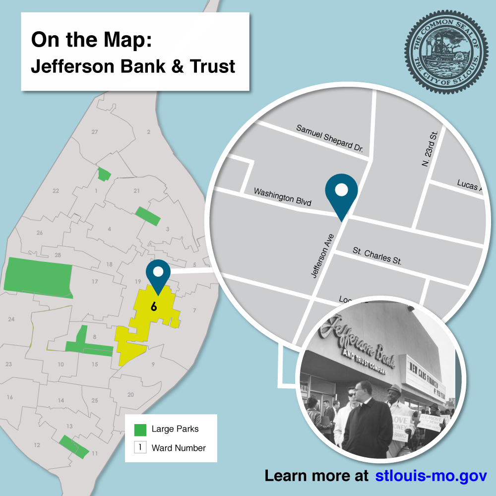 Jefferson Bank Map