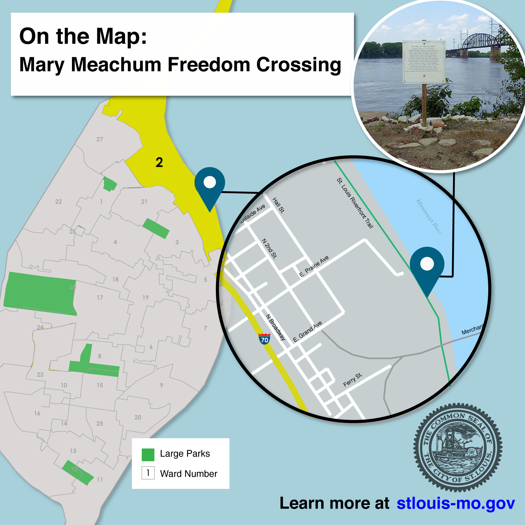 On the Map Mary Meachum Freedom Crossing