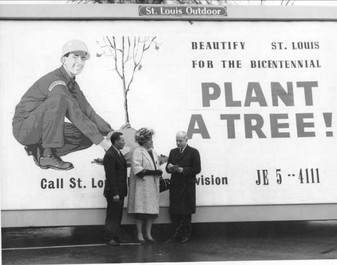 Forestry Division Historical Billboard