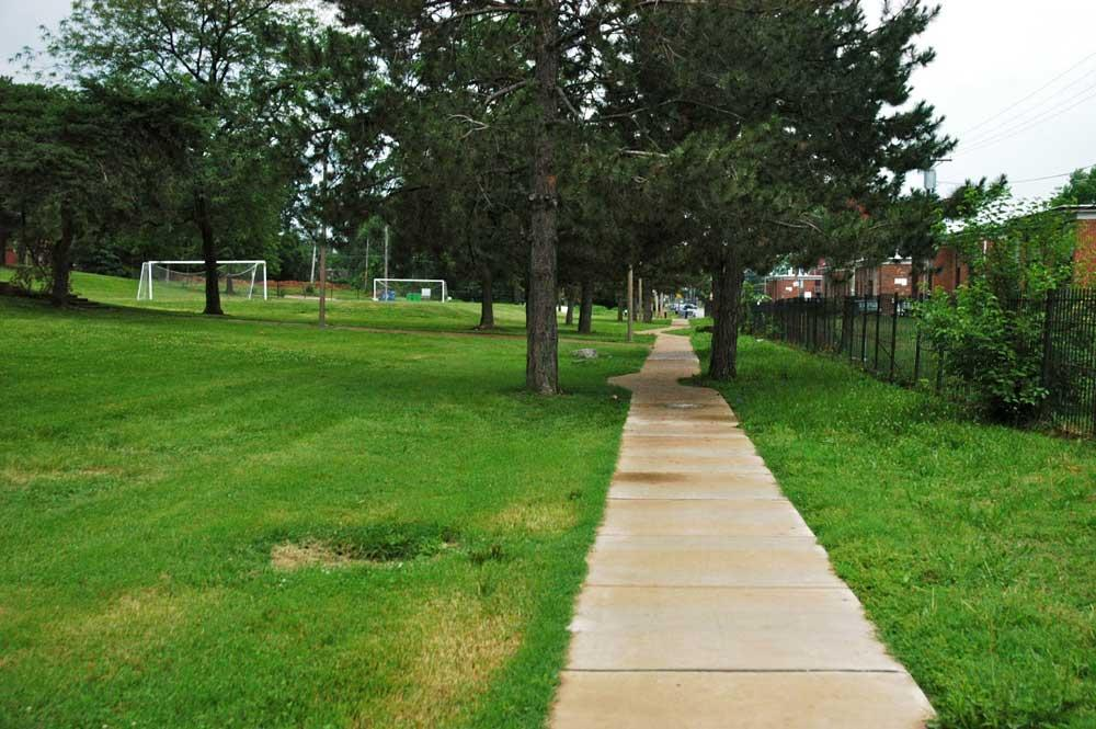 Amherst Park walkways