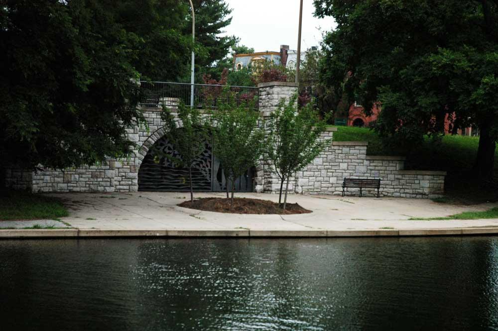 Bridge in Benton Park