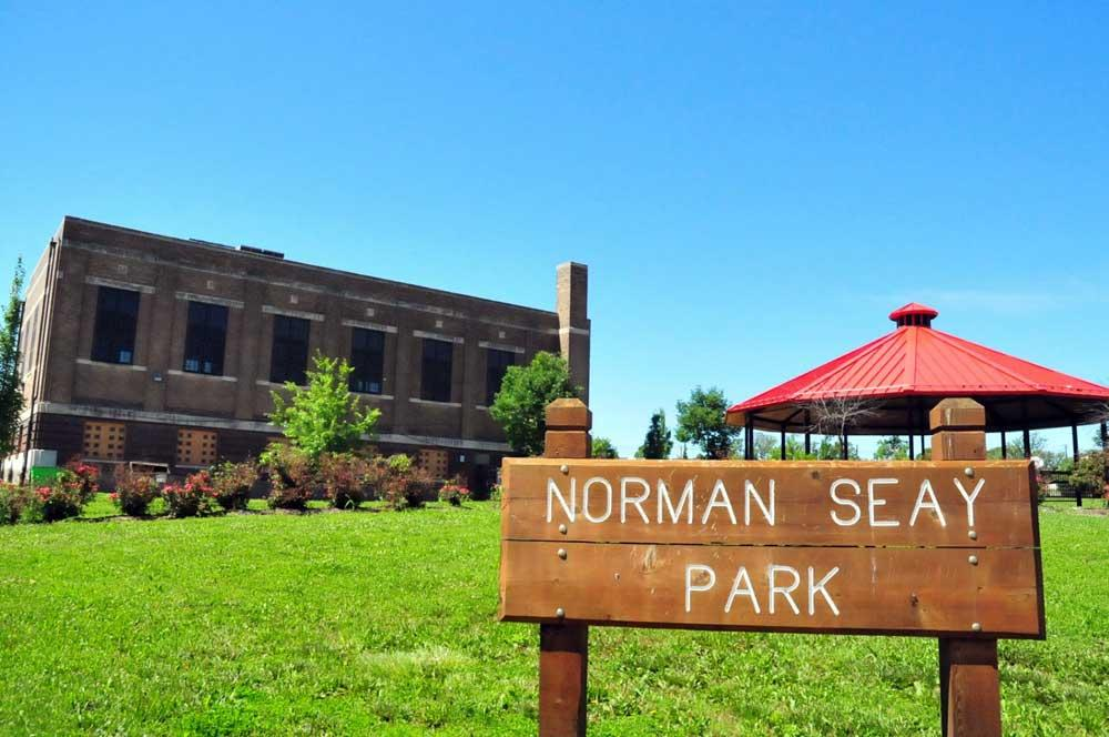 Norman Seay Park sign