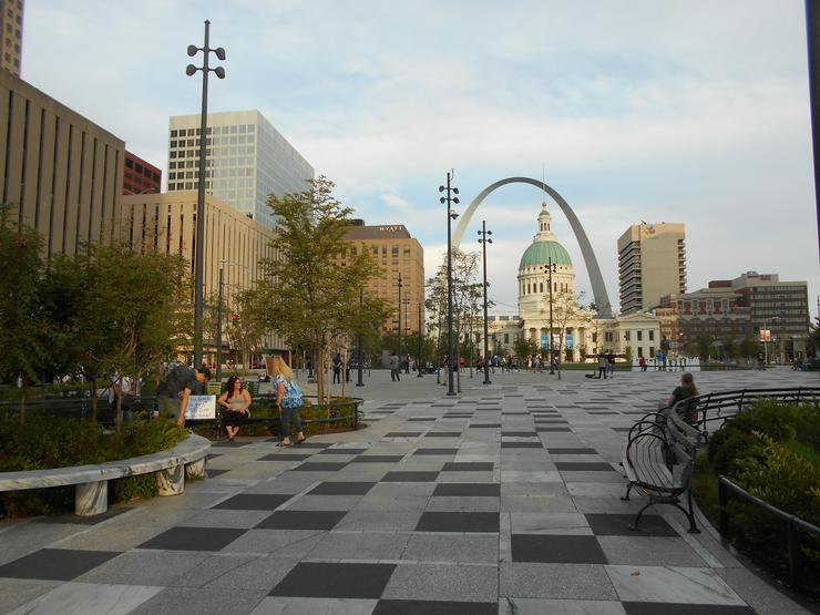 Kiener Plaza City Of St Louis Parks