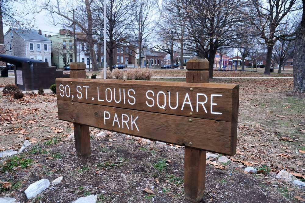 St. Louis Square Park sign