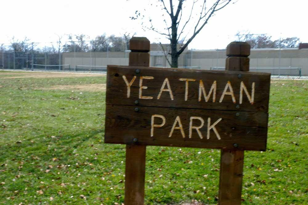 Yeatman Square Park sign