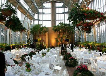 Jewel Box Wedding Set Up The In Forest Park