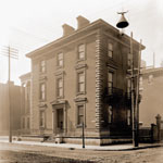 Shaw Town House-Located at southwest corner of 7th and Locust