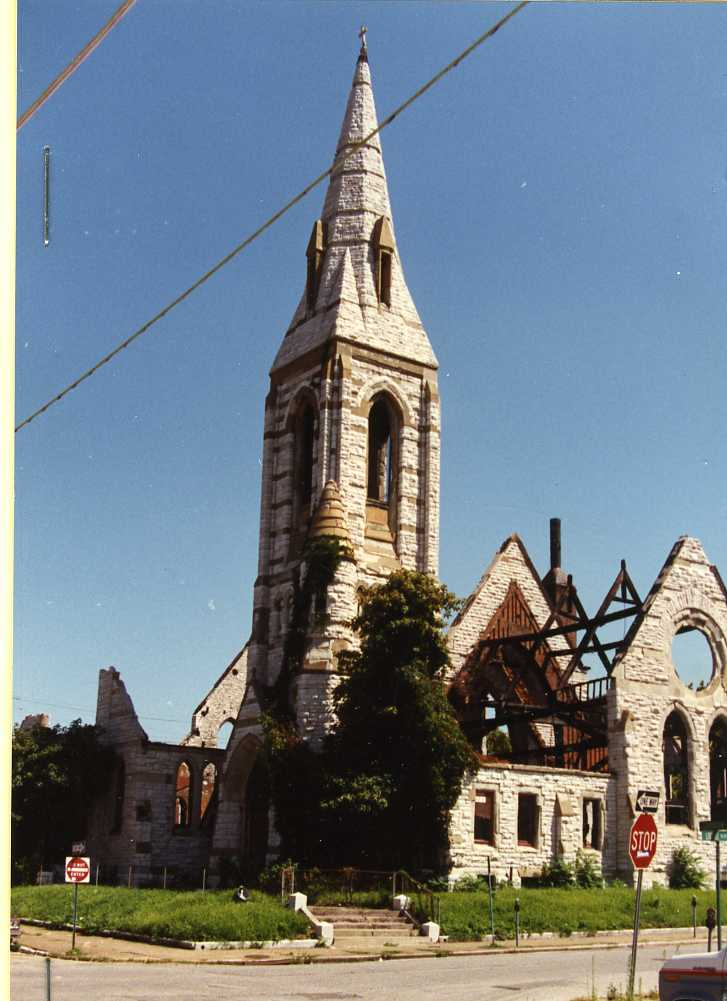Old Unitarian Church of the Messiah-Demolished