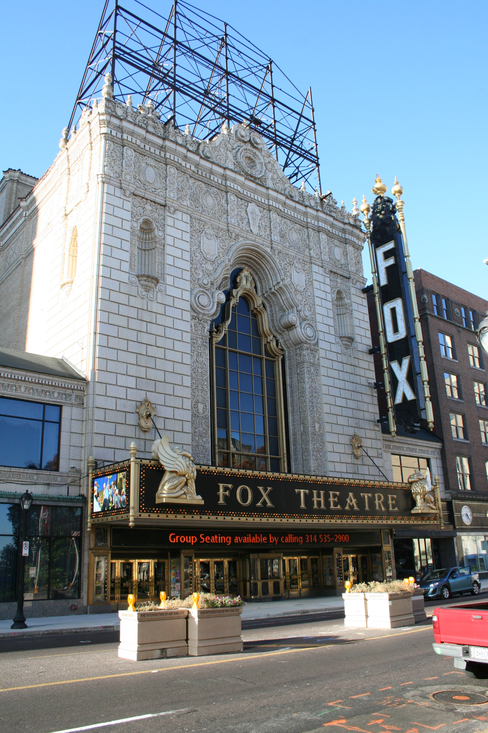 Fox theatre city landmark 79 for Architect st louis mo