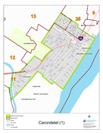 Carondelet Neighborhood Map