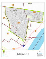 Dutchtown Neighborhood Map