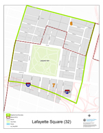 Lafayette Square Neighborhood Map