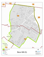 Bevo Mill Neighborhood Map