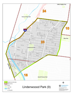 Lindenwood Park Neighborhood Map