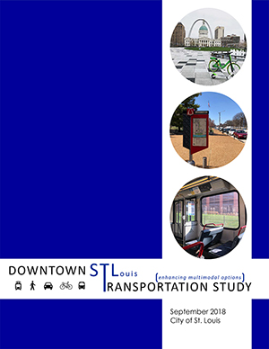 Downtown St Louis Multimodal Transportation Study cover page