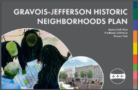 Cover Image of the Gravois Jefferson Historic Neighborhood Plan Document