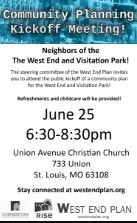 West End Planning Kickoff Flyer thumbnail