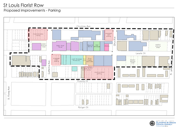 Florist Row Shared Parking Plan