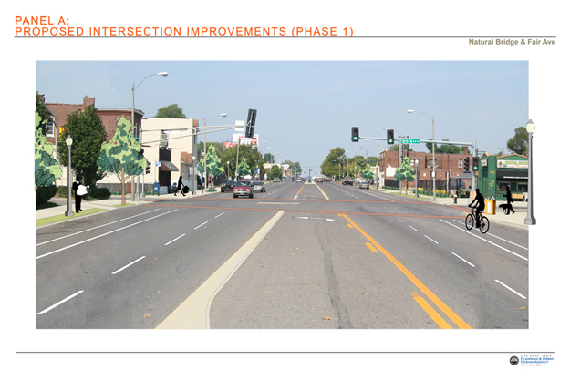 Proposed Intersection Improvements: Fair Avenue Phase 1