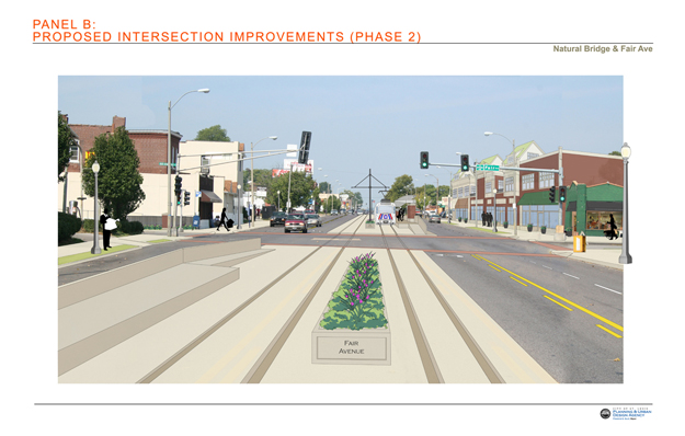 Proposed Intersection Improvements:  Fair Avenue Phase 2