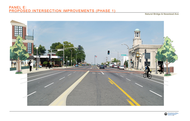 Proposed Intersection Improvements: Newstead Avenue Phase 1
