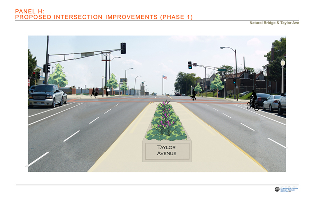 Proposed Intersection Improvements: Taylor Avenue Phase 1