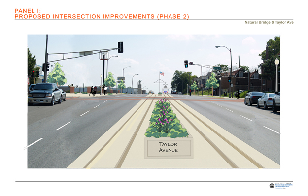 Proposed Intersection Improvements: Taylor Avenue Phase 2